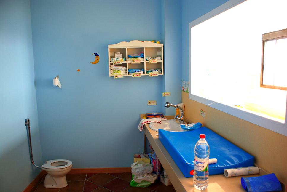El Caballito de Mar cambiador aseo niño 2 3 años