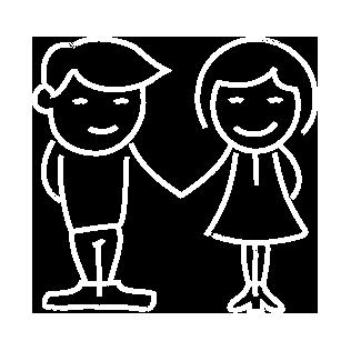 Dibujo de niños en El Caballito de Mar